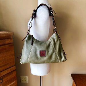 Dooney & Bourke Green Shoulder Bag Purse